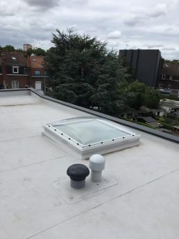 Réalisation de Velux pour toit plat à Lille